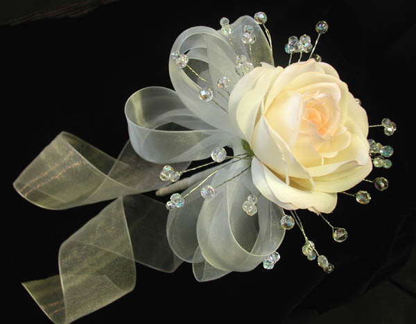 Single Rose Crystal Bouquet