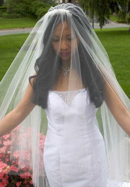Customized Circular Wedding and Bridal Veils